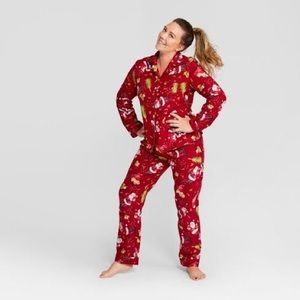 Wondershop Holiday Christmas Flannel Pajamas